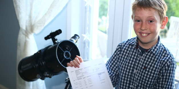 GCSE Results Day 2013: Monty Rix, 10-Year-Old With NASA Dreams, Gets B In Astronomy
