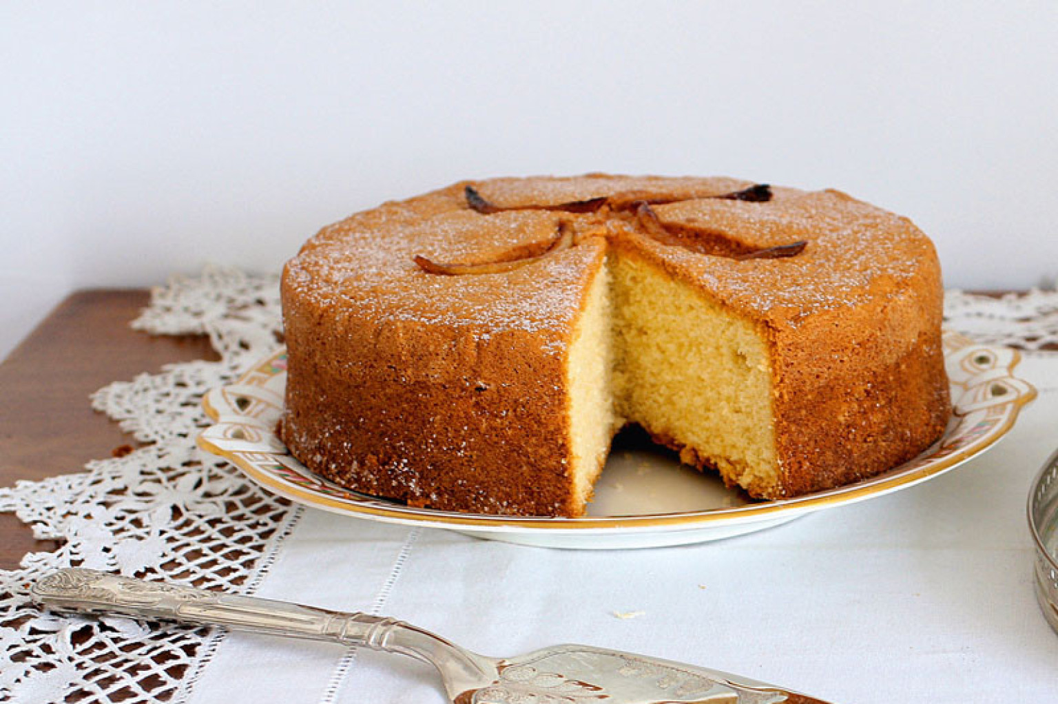 Lemon Sponge Cake Recipe Simple