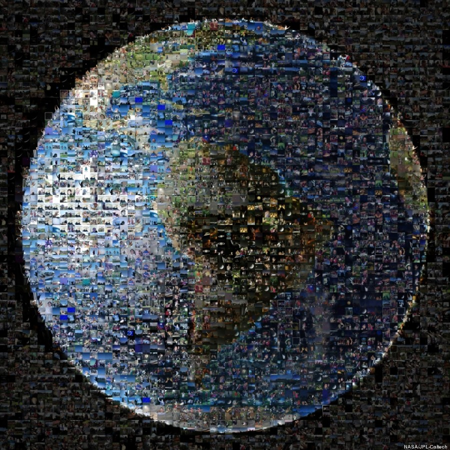 nasa collage terra