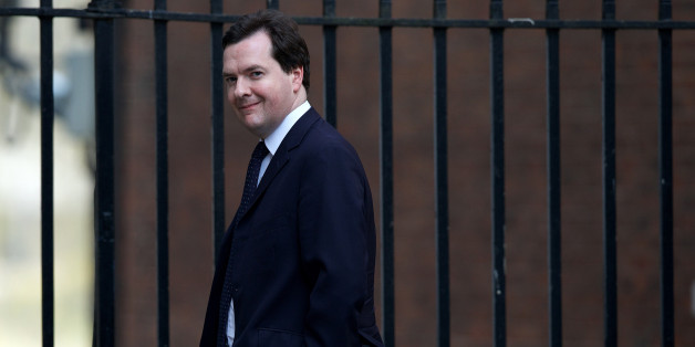 Britain's Chancellor of the Exchequer George Osborne leaves number 11 Downing Street in central London on April 10, 2013. British lawmakers will interrupt their holidays for a special session of parliament on April 10 to debate the legacy of Margaret Thatcher, although many of the former premier's most trenchant critics are likely to stay away. AFP PHOTO / ANDREW COWIE        (Photo credit should read ANDREW COWIE/AFP/Getty Images)