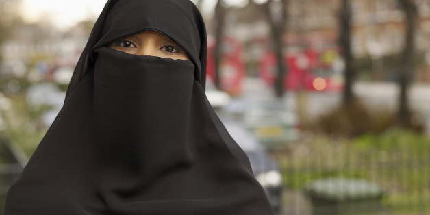 A British Muslim women in a niqab (file photo)