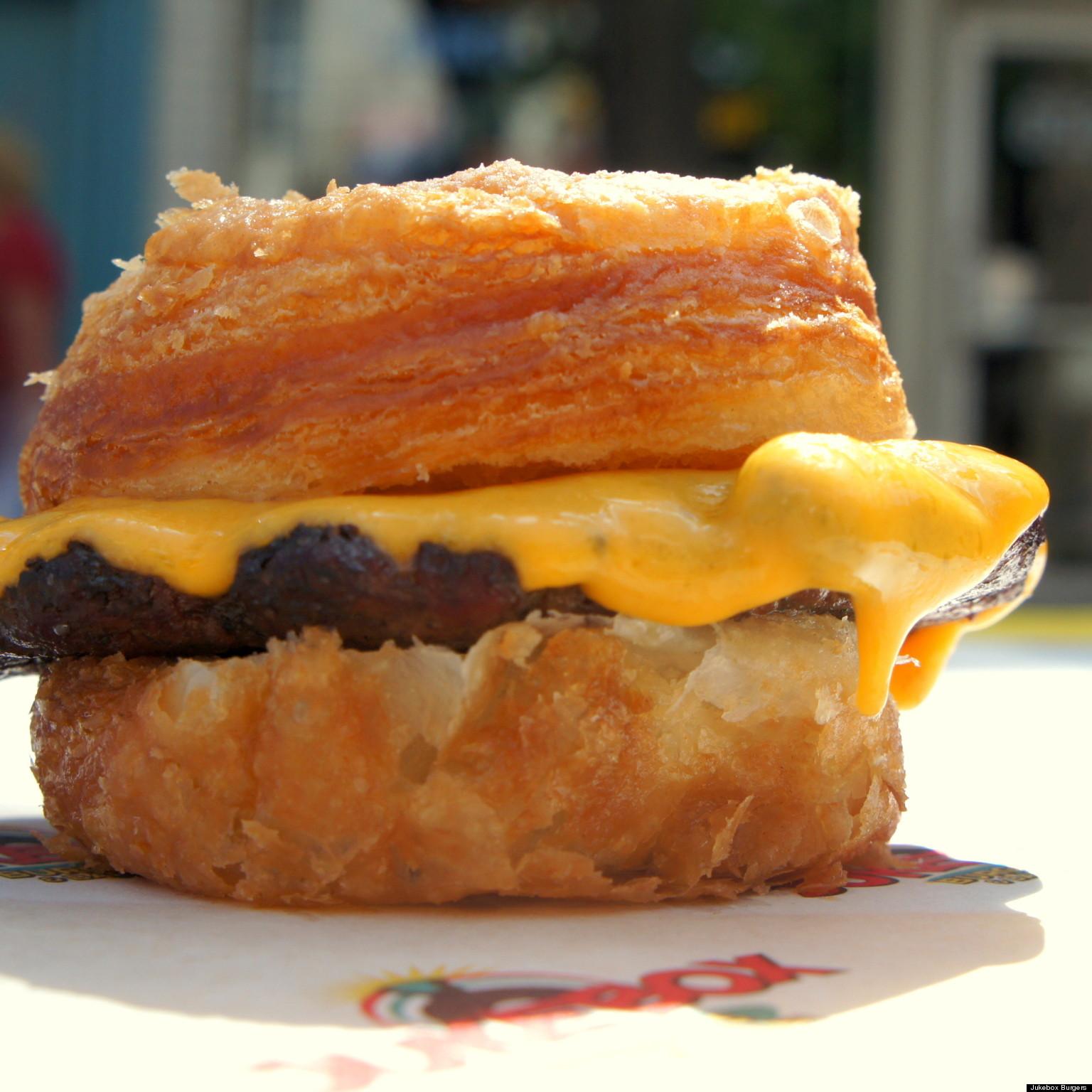 cronut burger montreal