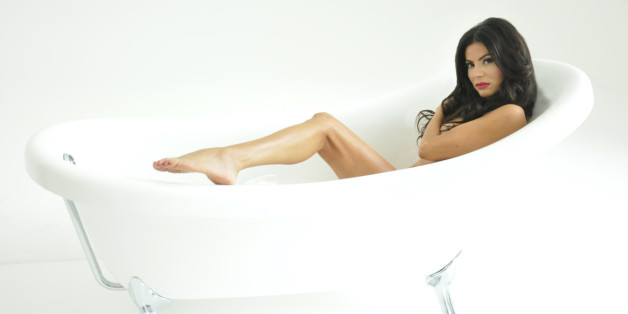 Adriana de Moura, 'Housewives' Star, Poses In PETA Ad To Free Captive Whales (PHOTOS)