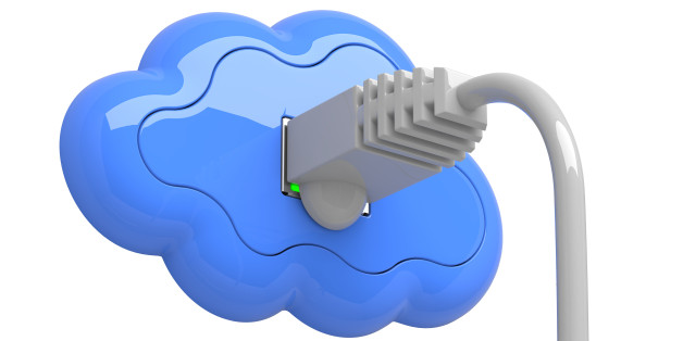 cloud computing concept. the...