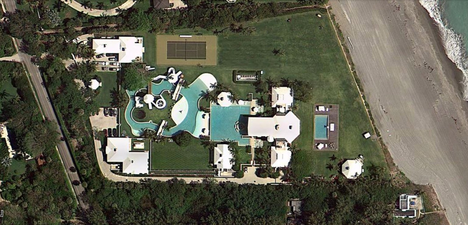 Celine Dion S 72 5 Million Jupiter Island House Has Its Own Water Park Photos Video Huffpost