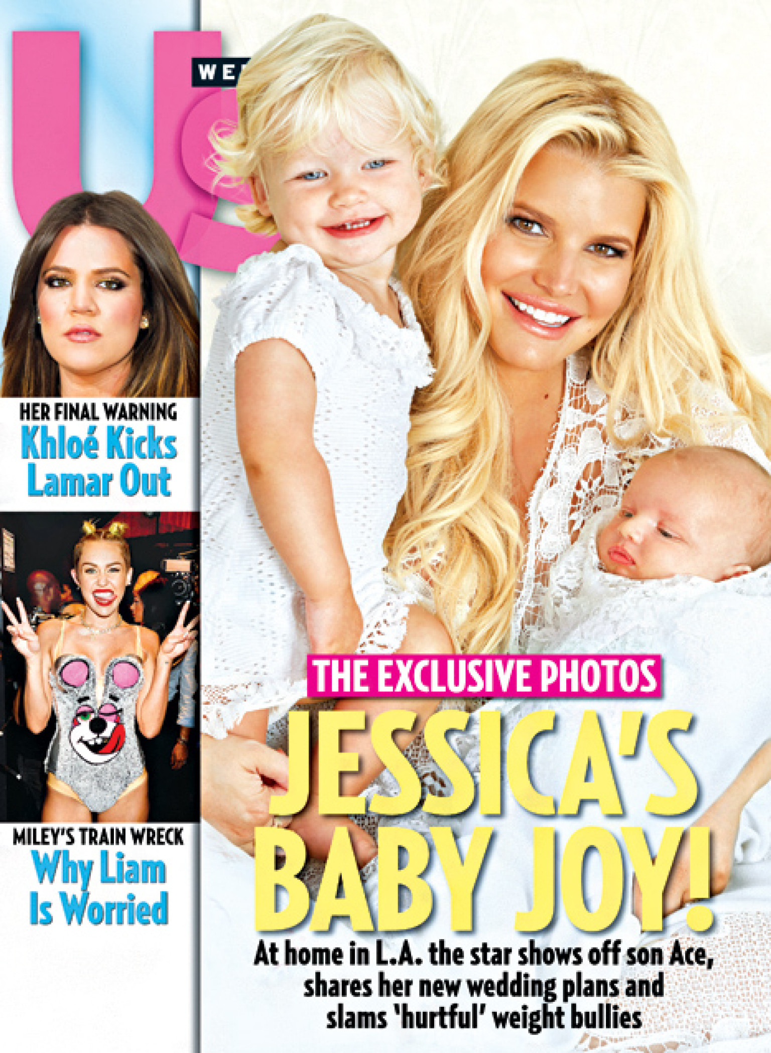 Jessica Simpson Debuts Baby Ace The Cover Us Weekly