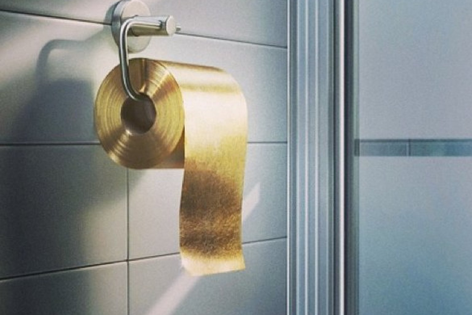 Kelly Wearstler Posts Photo Of Gold Toilet Paper On Her Instagram Who Would Buy This PHOTO