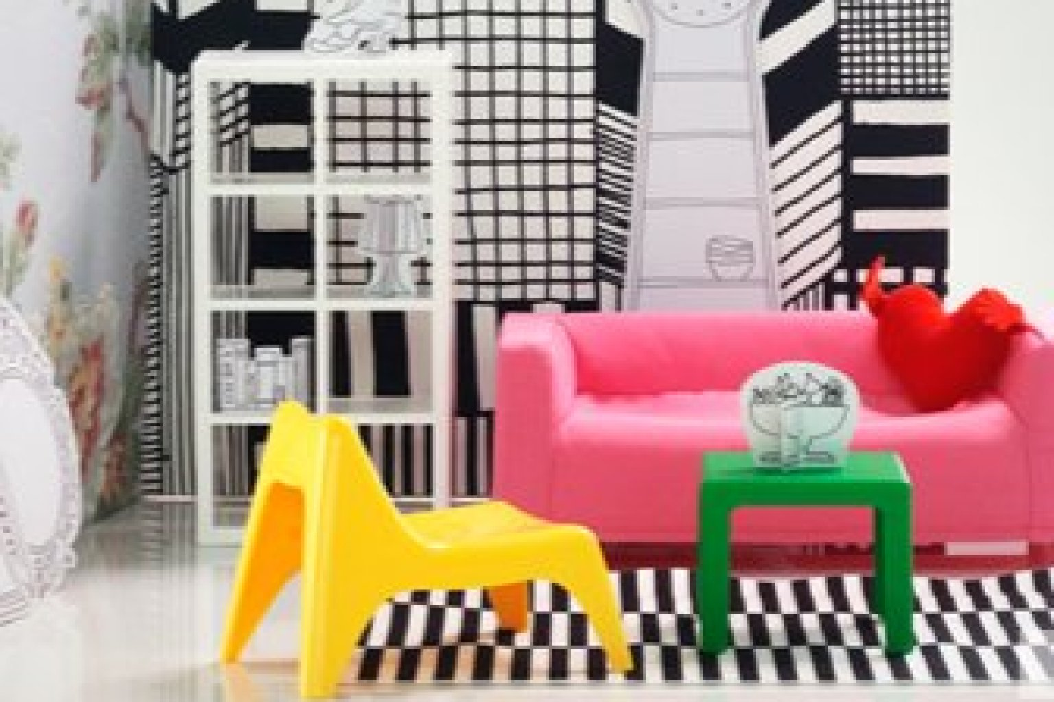 IKEA Miniature Furniture, For The Budget Minded Doll In Your Life (PHOTO) |  HuffPost