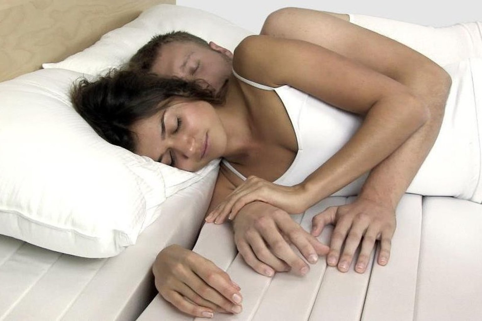 the cuddle mattress which lets you snuggle comfortably might be