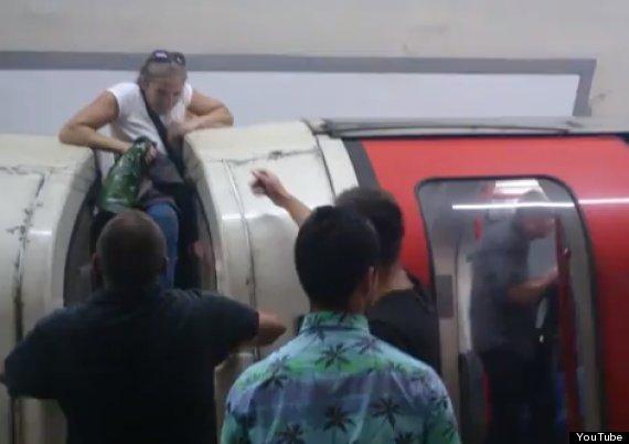 london underground tube terror