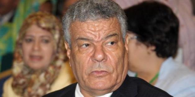 Ammar Saïdani, nouveau secrétaire général du Front de libération nationale (FLN), Alger -le 29 août 2013