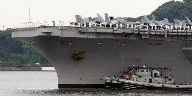 U S Aircraft Carrier Group Rerouted For Possible Help With Syria Huffpost