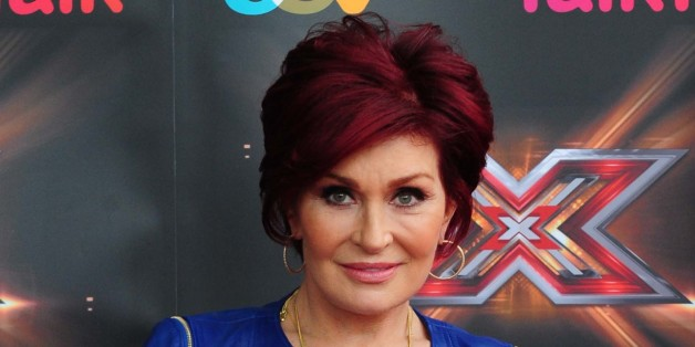 X Factor judge Sharon Osbourne arrives at the ICC, Birmingham.