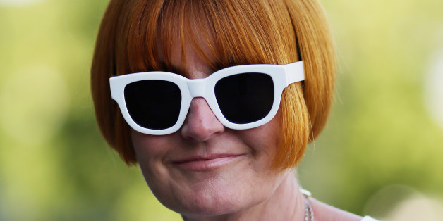 LONDON, ENGLAND - SEPTEMBER 02:  Mary Portas poses for a picture outside Portcullis House on September 2, 2013 in London, England.  High Street campaigner Mary Portas is today facing questions from Members of Parliament on the communities and local government select committee. The traditional high street is under increasing pressure due to the recession and the rise of on-line shopping.  (Photo by Dan Kitwood/Getty Images)