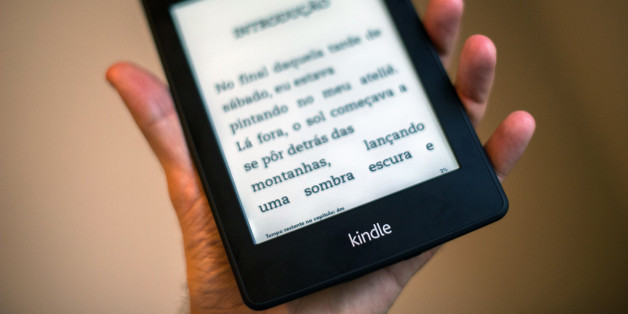 View of a Kindle reader --which will be sold in 299 Reais (150 dolars) for the Brazilian market-- in Sao Paulo, Brazil on March 15, 2013. AFP PHOTO/Yasuyoshi CHIBA        (Photo credit should read YASUYOSHI CHIBA/AFP/Getty Images)