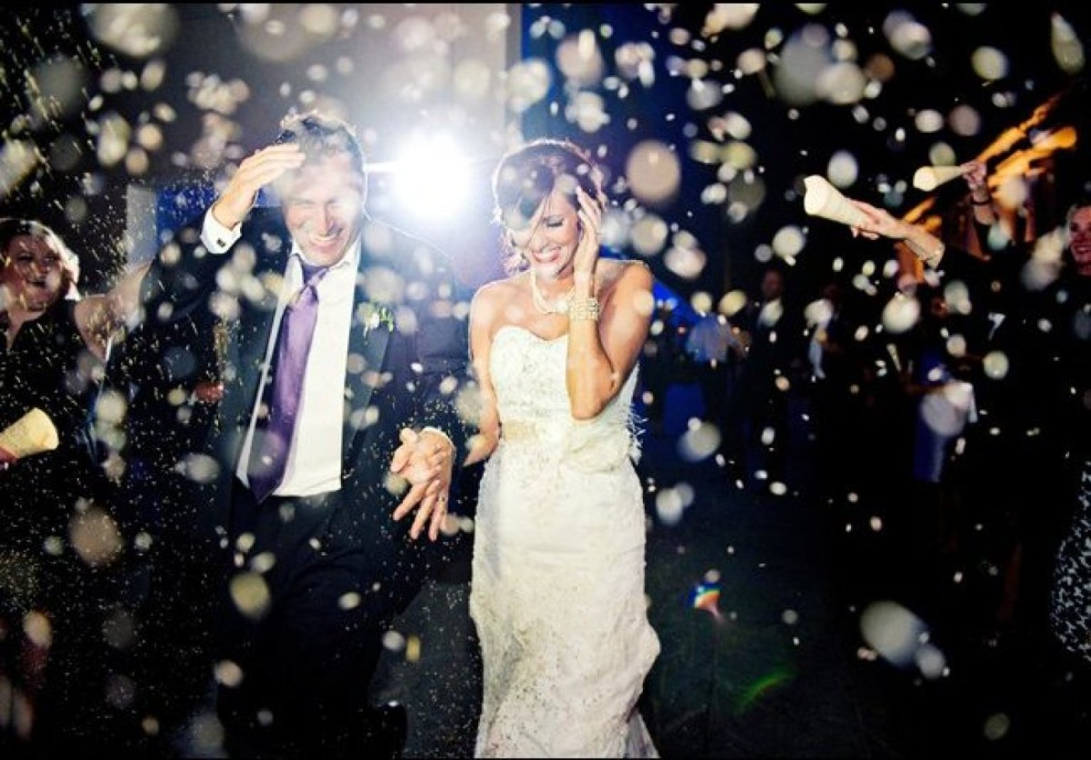12 Creative Wedding Exit Toss Ideas | HuffPost