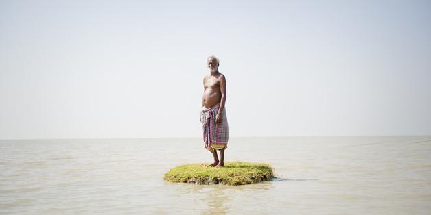 La montée des eaux, due au réchauffement climatique, met en danger de nombreuses îles