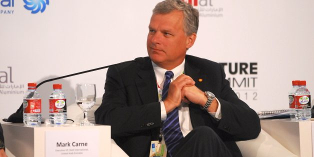 UNITED ARAB EMIRATES, ABU DHABI - JANUARY 17, Mark Carne Executive VP of Shell International, UAE during the 2012 World Future Energy Summit - Day Two held at the Abu Dhabi National Exhibition Centre on January 17, 2012 in Abu Dhabi, United Arab Emirates. The World Future Energy Summit annual four-day event draws major players in the renewable energy world and provides a showcase for the latest developments in clean energy technologies. (Photo by Sean Blake/Gallo Images/Getty Images)