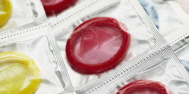 The condoms were used in the far-right party's campaign against immigrant births