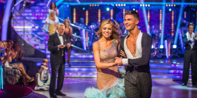 Abbey Clancy and other celebs discover Strictly partners