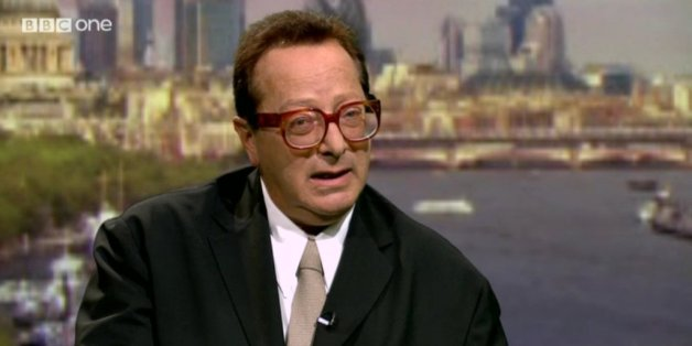 Lord Saatchi was questioned by Andrew Marr