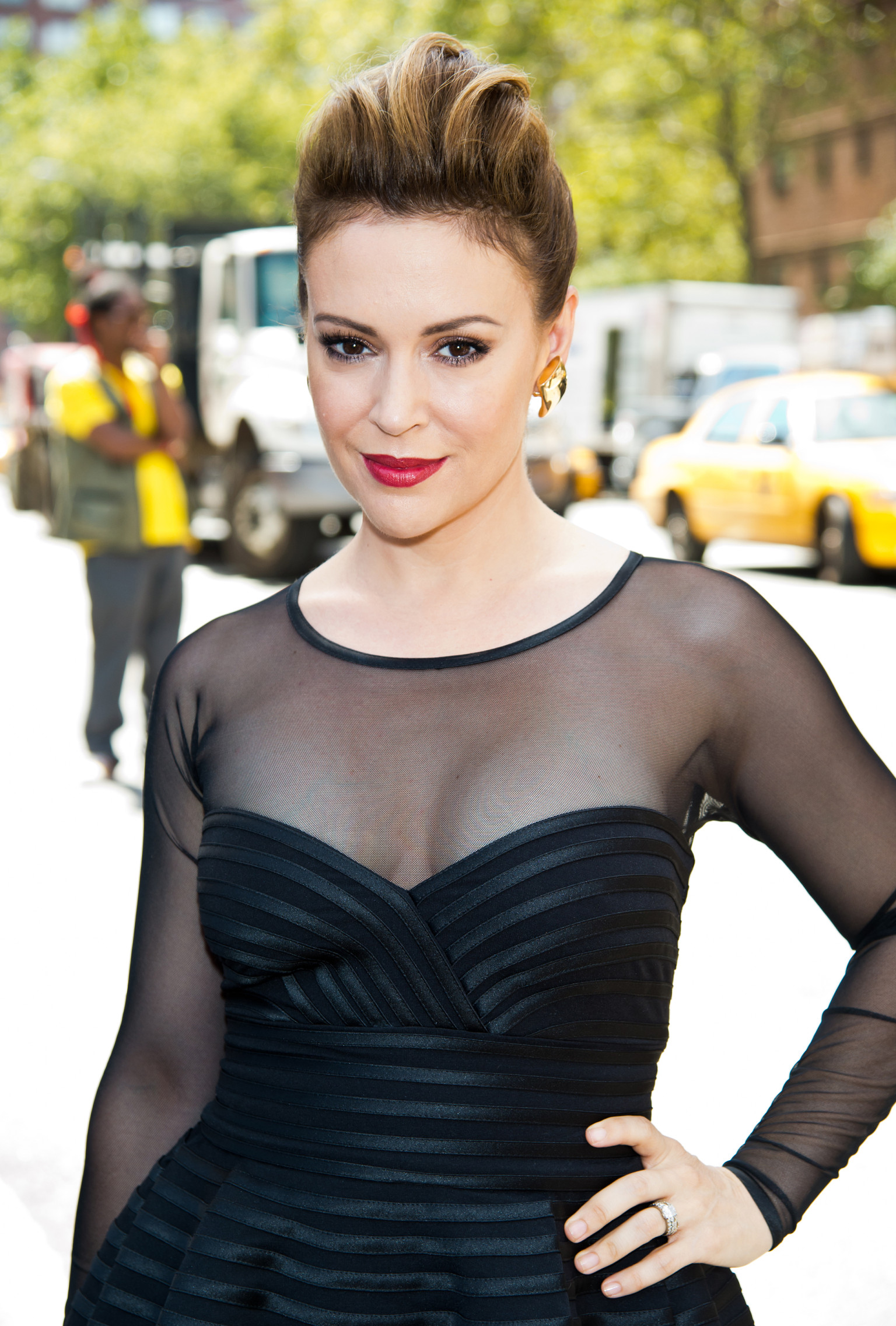 Learn more about Alyssa Milano at TVGuidecom with exclusive news full bio and filmography as well as photos videos and more