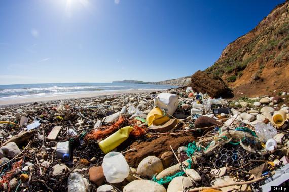 ocean litter