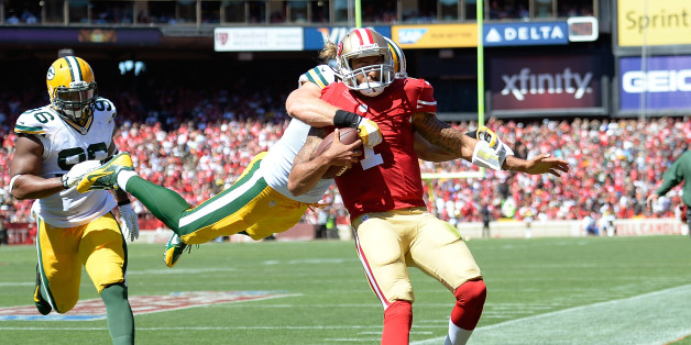 Colin Kaepernick After 49ers Beat Packers: Intimidation Won't Win Games