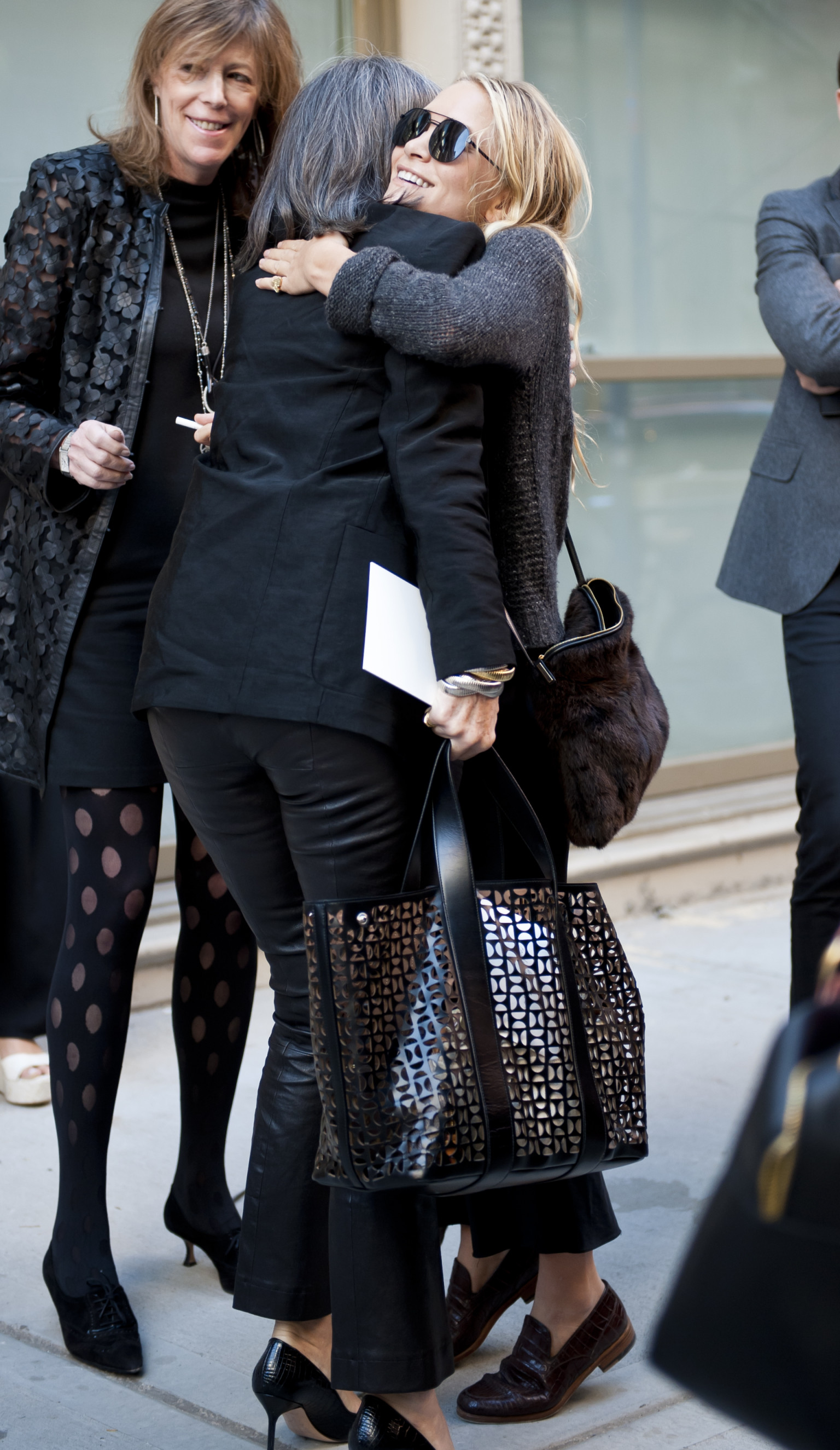 Fashion Week Street Style 2013 Even The Olsens Get Snapped Photos Huffpost