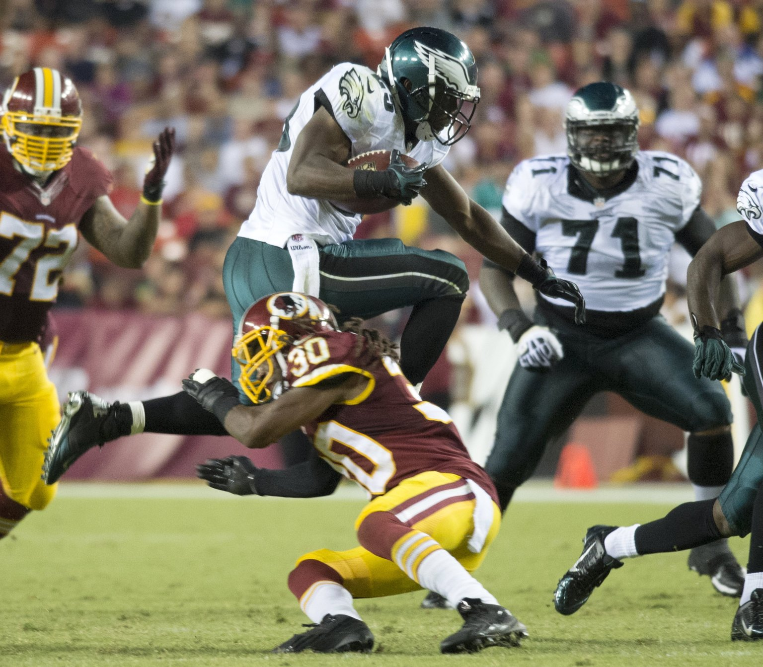 LeSean McCoy Touchdown Eagles RB Makes Washington Look Silly