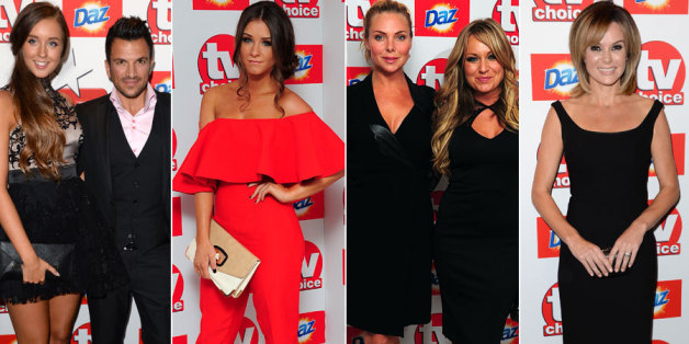 TV Choice Awards red carpet arrivals