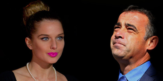 Helen Flanagan and Michael Le Vell