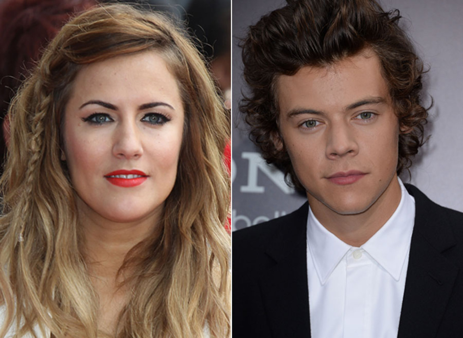Is harry styles still dating caroline flack 2012