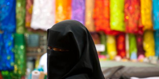 Des femmes portant le niqab,Istanbul, Turquie, 2003