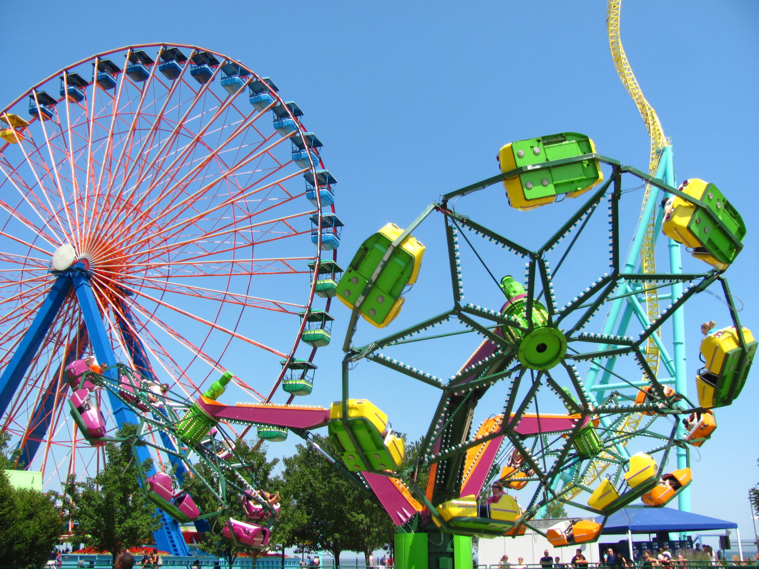 America 39 s 13 best amusement parks that aren 39 t six flags for Cedar credit