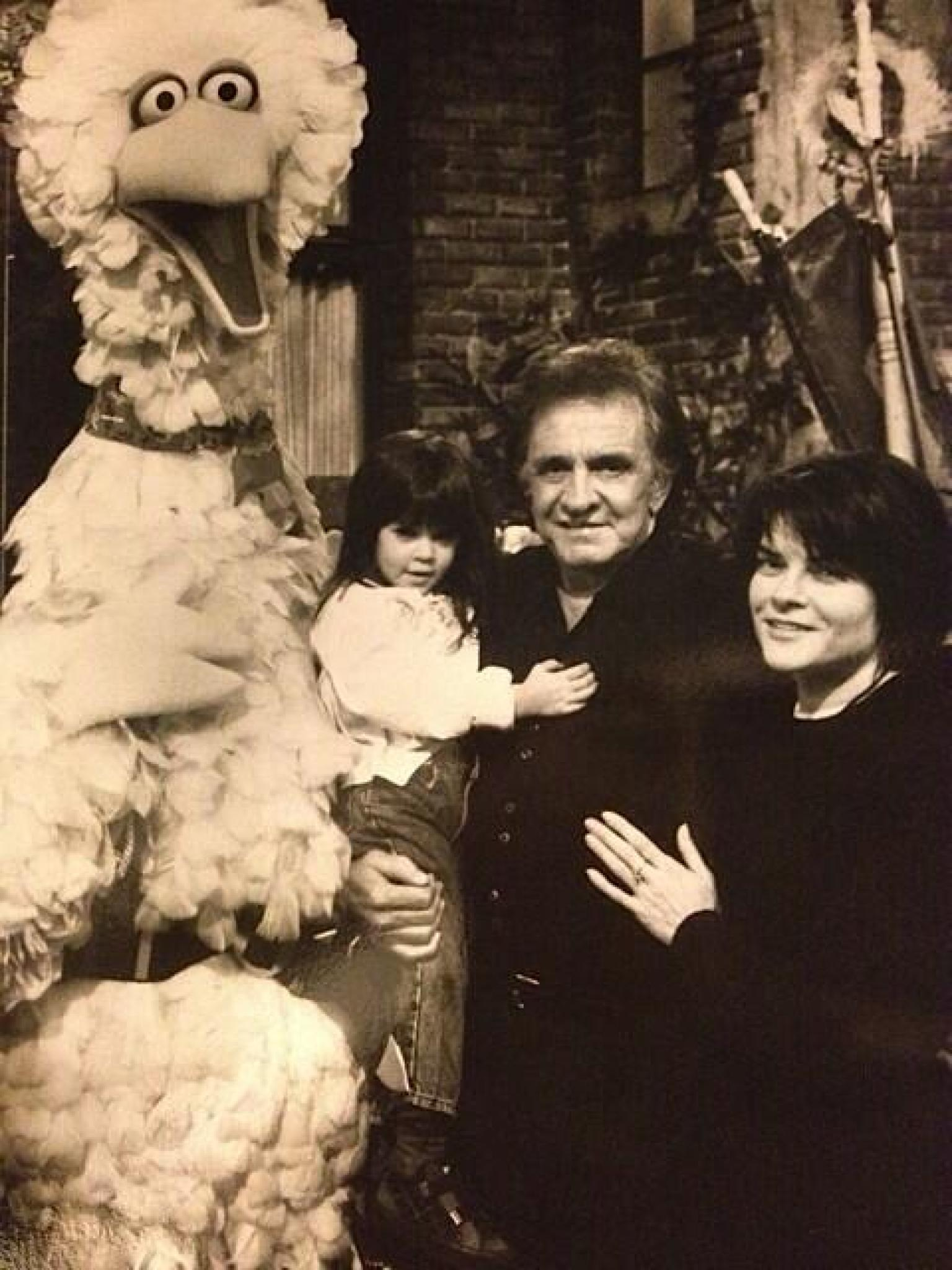 Young Johnny Cash And Vivian Johnny Cash's Daughter...