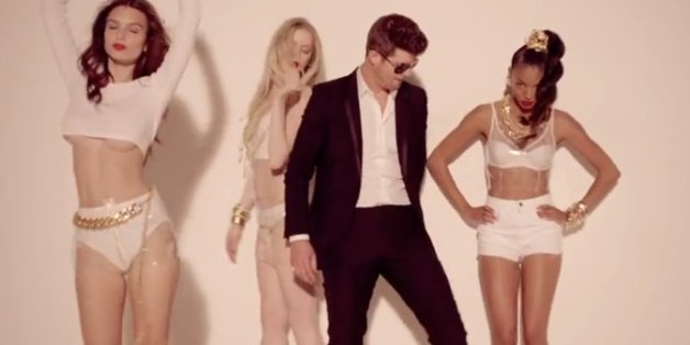 Robin Thicke's Blurred Lines Banned From Edinburgh University Student Union