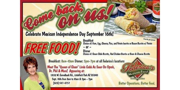 Federico's Mexican Restaurant Causes Bloody Diarrhea Outbreak, Offers Free Burritos As Apology