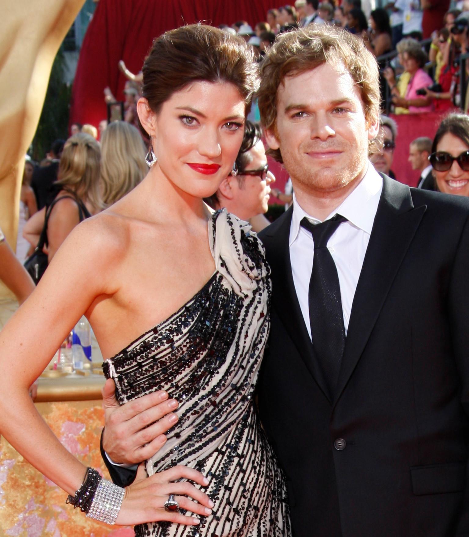 'Dexter' stars Michael C. Hall, Jennifer Carpenter file ...