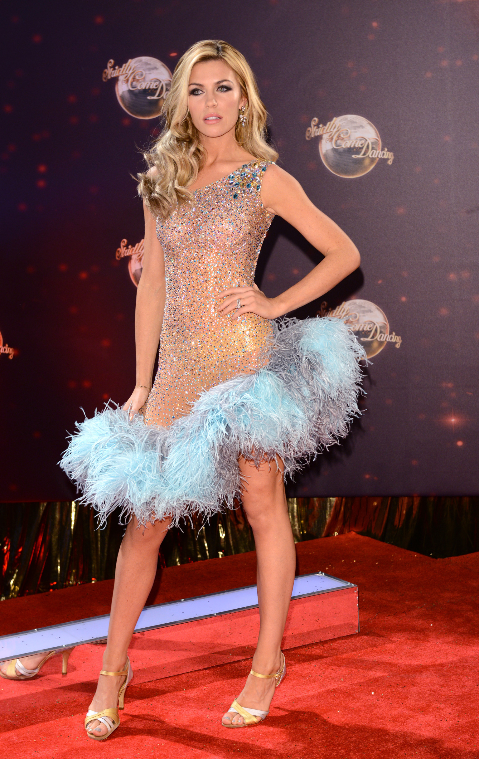 'Strictly Come Dancing': Abbey Clancy Ropes in Footballer ...