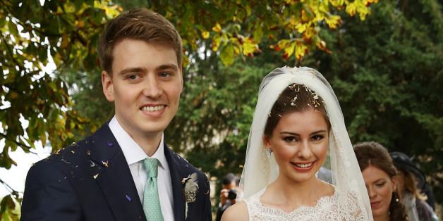 Euan Blair, son of former British Prime Minister Tony Blair, is getting married today