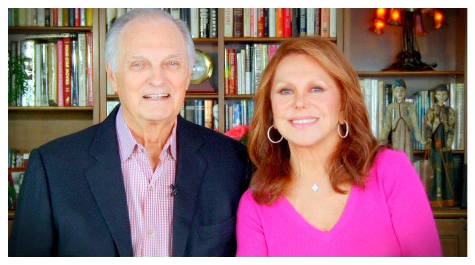Alan Alda With Marlo Thomas Video Huffpost