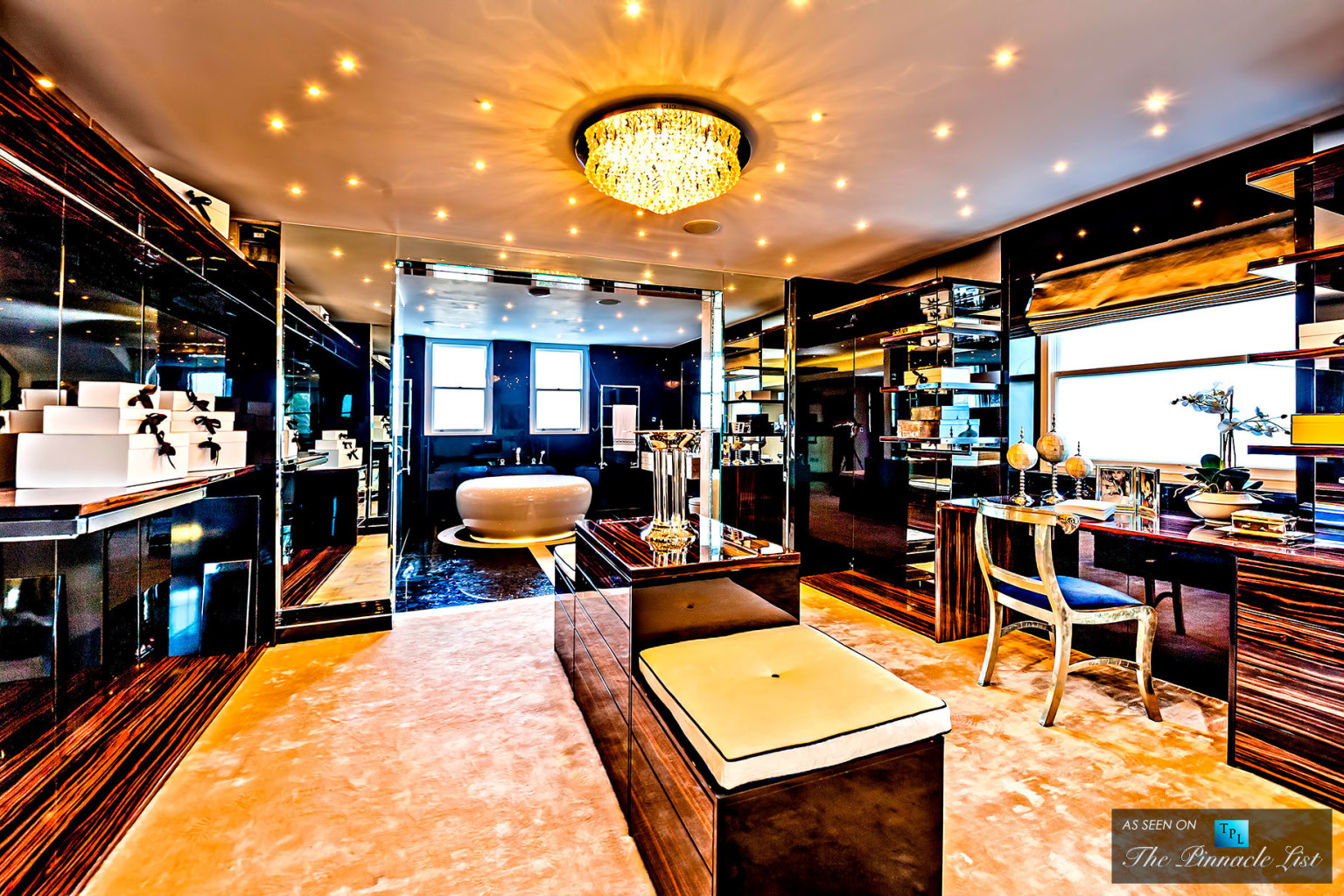This Luxury London Flat Has The Dressing Room Of Your Dreams (PHOTOS) |  HuffPost