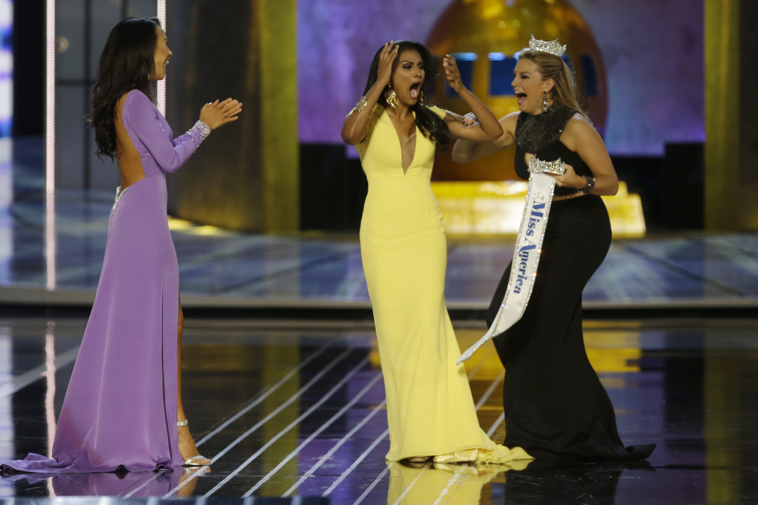 Miss America 2018 Evening Gowns