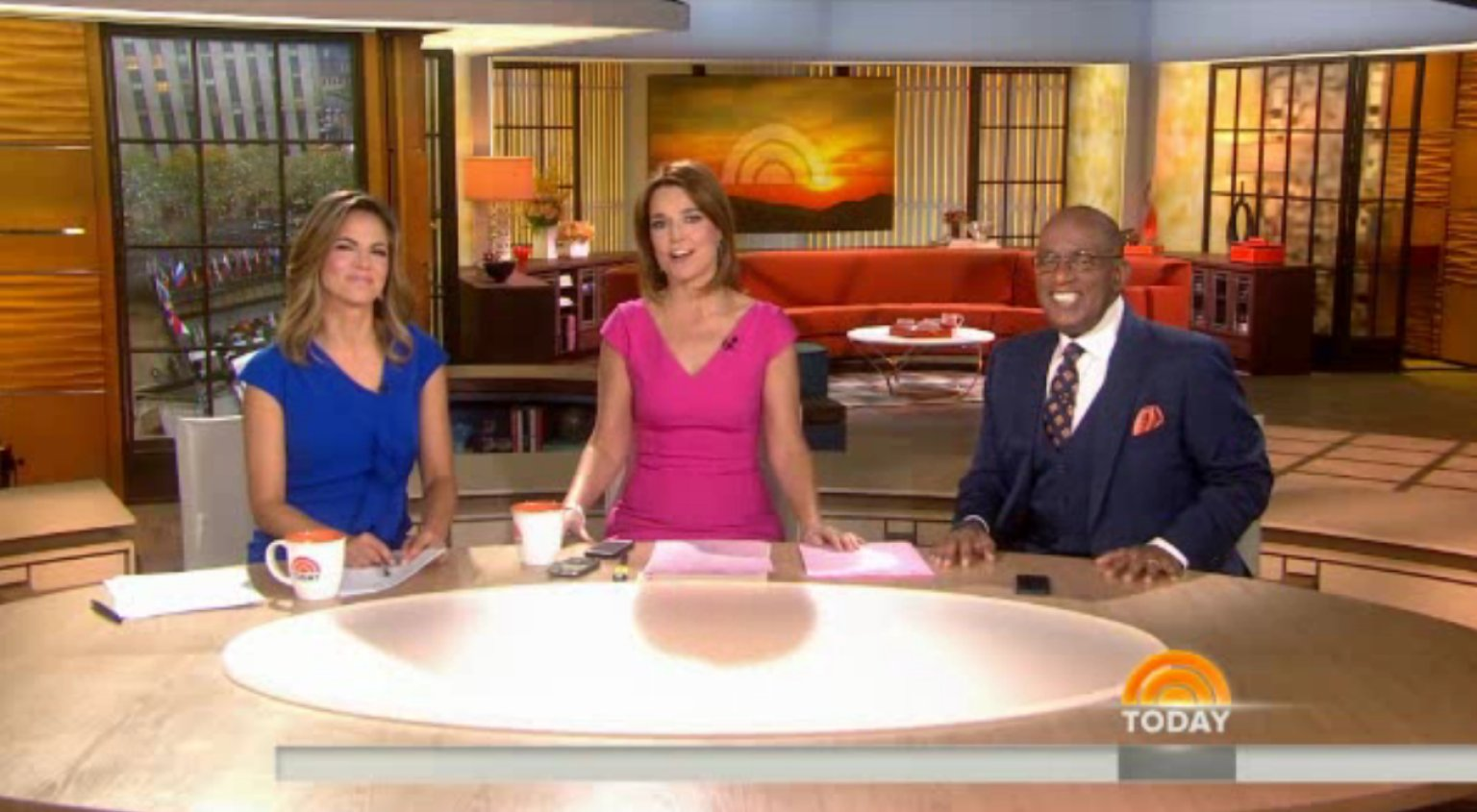 'Today' Show's New Set Unveiled (VIDEO)   HuffPost