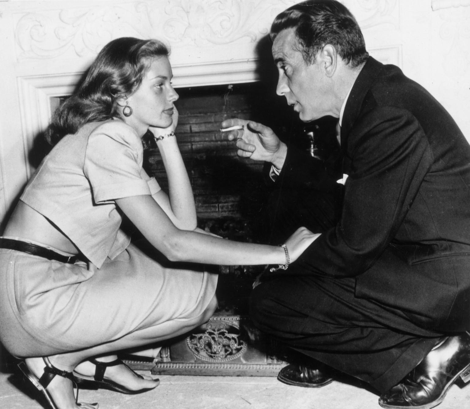 The Reason Humphrey Bogart Fell For Lauren Bacall (PHOTOS