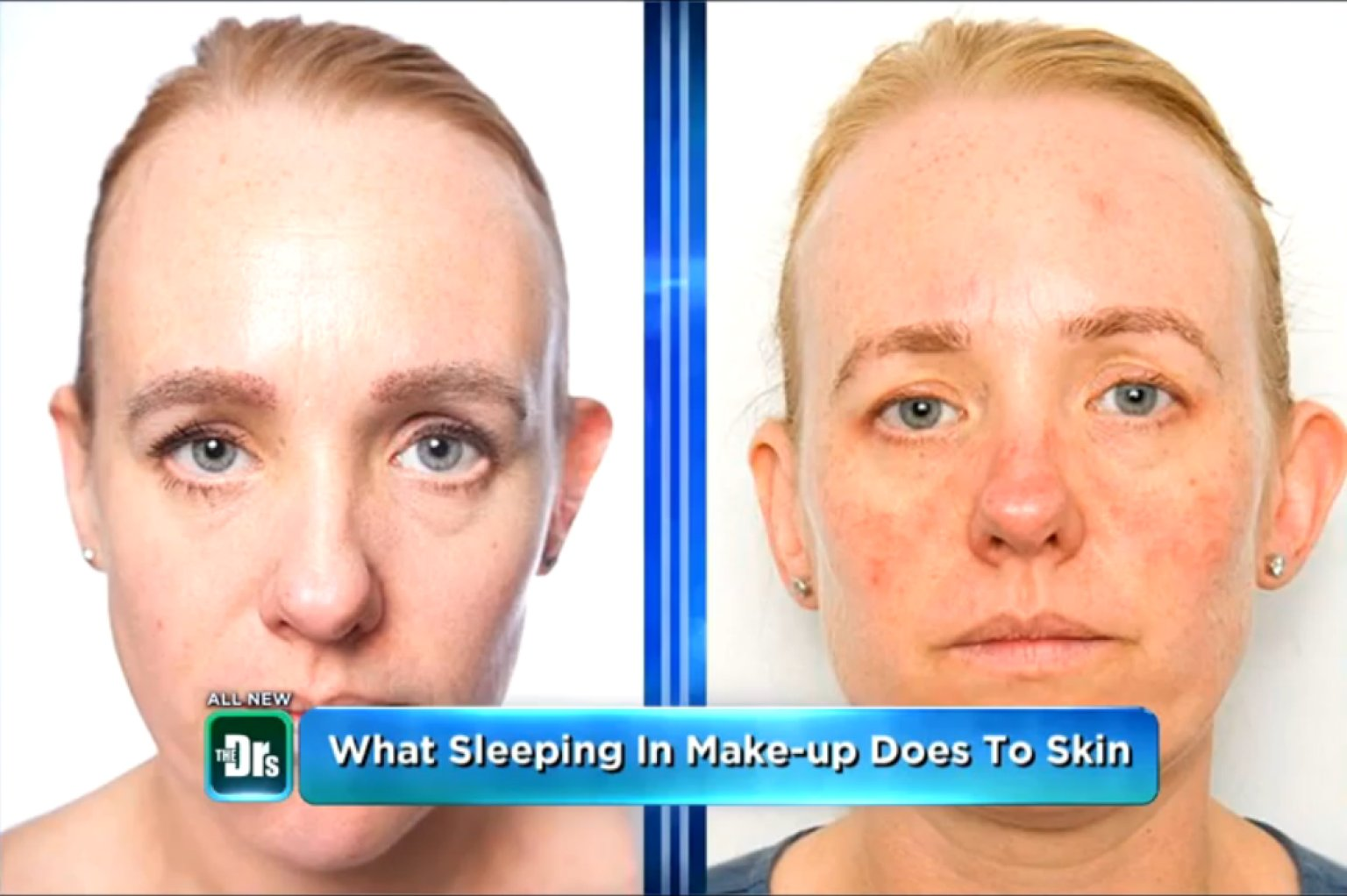 Does makeup ruin your skin