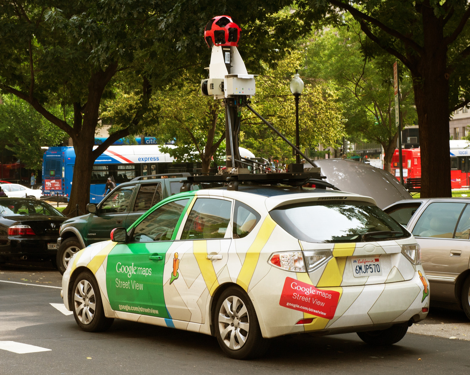 google street view car crashes in indonesia driver. Black Bedroom Furniture Sets. Home Design Ideas
