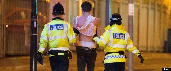 drunk police