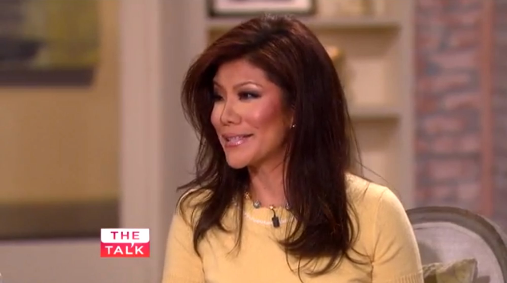 Julie Chen I Did Not Have Nose Job Video Huffpost